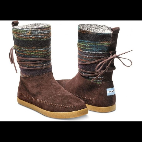 9266ce35b Toms Shoes | Brown Nepal Boots Size 9 Womens | Poshmark